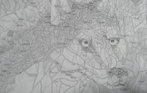 地図 - 天狗