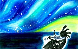 夜空に奏でるココペリのうた - miho