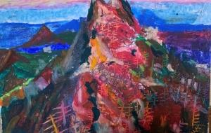 仏陀の霊峰石鎚山の観世音菩薩の御影 - 大野貴士