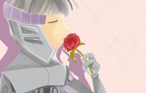 命のバラ - 五月ツツジ