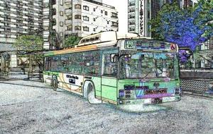 バス de アート - 中河原昭仁