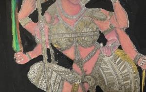 ヒンズーの女神サラスバティー - 大野貴士