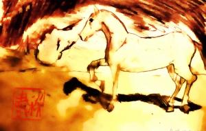 金色の馬 - 小林由樹