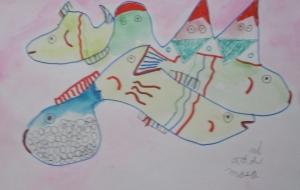 山と魚 - マサミ