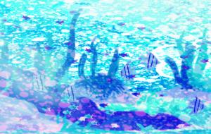 泡 - 五月ツツジ
