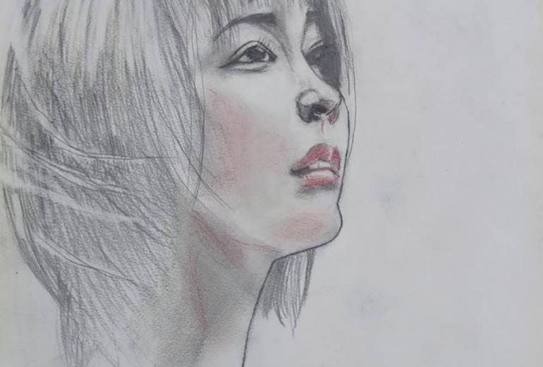 桃源郷の少女