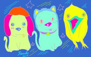 令和な三匹ラッキー - yuusuke47