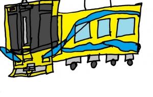 だいすきな電車:ネットスクウェア年賀状 - mizuki