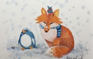 キツネとペンギンとネズミ - RINA