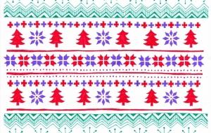 西洋風クリスマス柄 - 虎目梨那