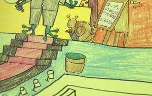 カエルとカタツムリのribbit ribb itレストラン - 星のピアノ