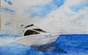 船とカモメ - KEISUKE