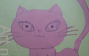 こっち見てる猫。 - ワタリドリ