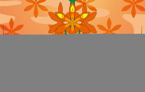 芳香カリスマのモントブレチア - ブルーム