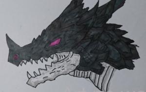 ドラゴンの顔 - 池田 旬