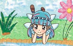 小川を見る妖精 - swaro