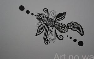 2匹の蝶 - 夏みかん