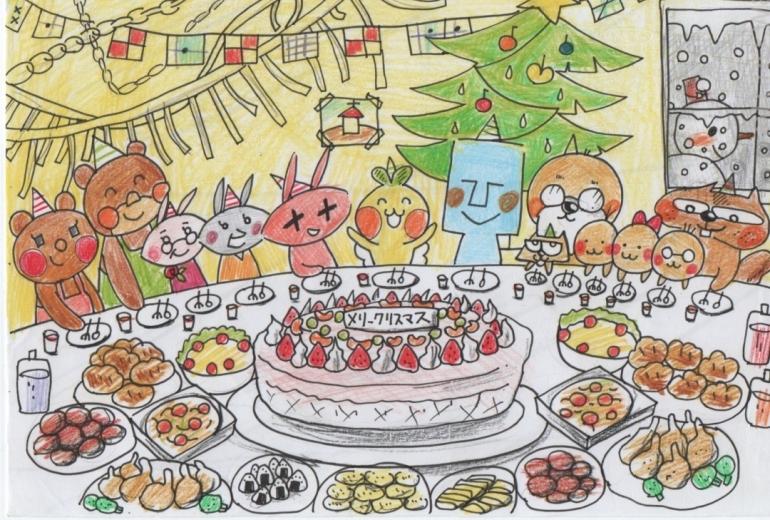 みんなと楽しいクリスマスパーティー