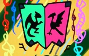 ドラゴンと鳳凰紋章 - 池田 旬