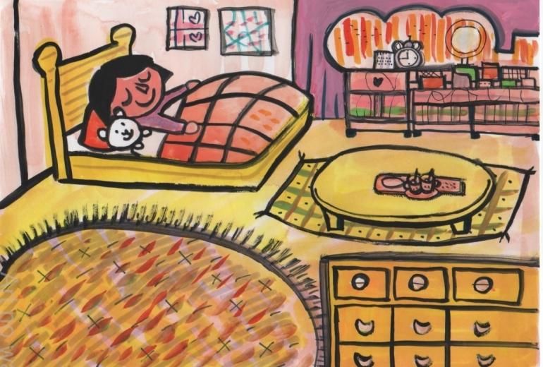 あたしのお部屋でおやすみなさい