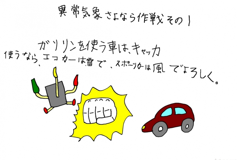 異常気象さよなら作戦① - yu-ma