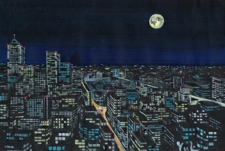 大都会の夜 - 水戸裕貴