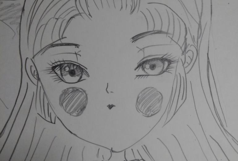 渦ノ潮姫 アップ画像。