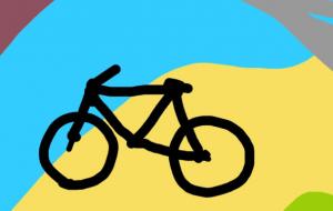 森と自転車 - 相田朋子