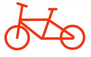 自転車1 - くみぱんつ