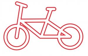 自転車2 - くみぱんつ