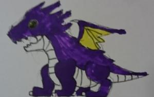 紫ドラゴンの子 - 池田 旬