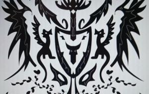 龍と鳳凰紋章 - 池田 旬