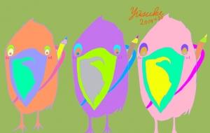分身3羽絵師 - yuusuke47