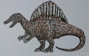 スピノサウルス - 池田 旬