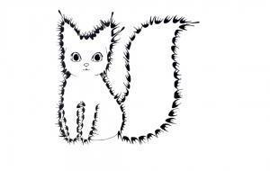 『猫』 - いざないみこと