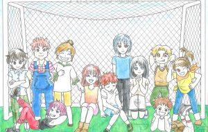 少年少女サッカーチーム - 虎目梨那