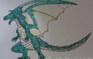 緑色ドラゴン - 池田 旬