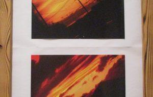 柿沼良多 綺麗な夕日 - 第4回 障がい者アート展