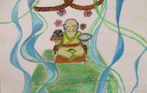 初野真菜 福の神と自然 - 【イベント】第4回 障がい者アート展