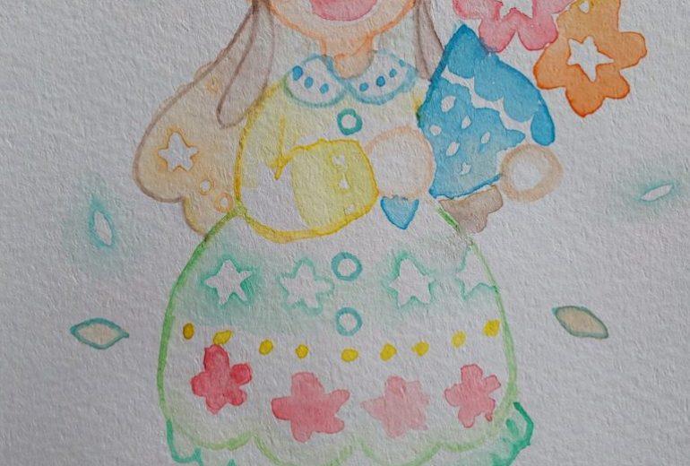 星の花の少女