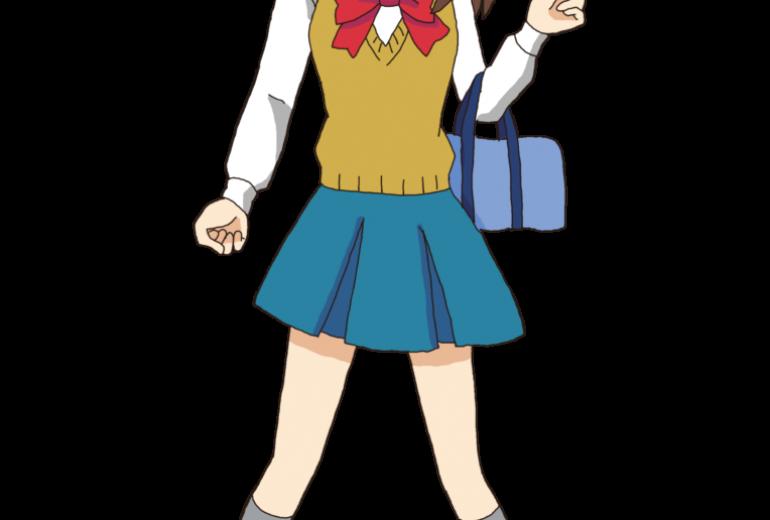 制服の女の子