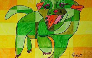 緑色の犬 - 田中郷