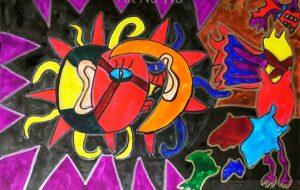 月と太陽の同化 - 田中郷