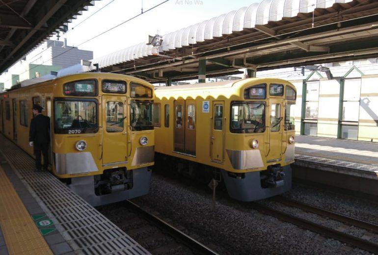 西武鉄道と言えば、黄色い電車!