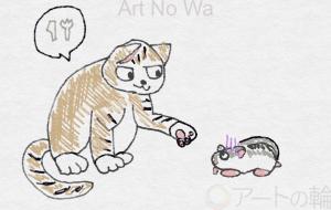 猫とハムスター - swaro