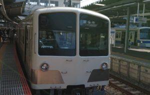 白い西武電車 - 中河原昭仁