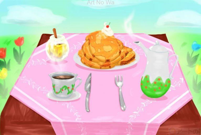 パンケーキセット - ショウヘイ
