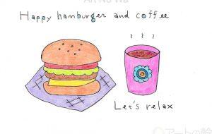 ハンバーガーセット - asami