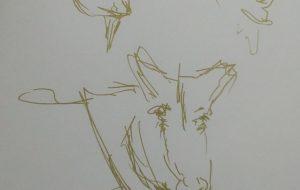 じっとしないから、じっくり描けないヤギ - 情報資格試験