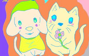 ハルが弟に桜の花を - yuusuke47